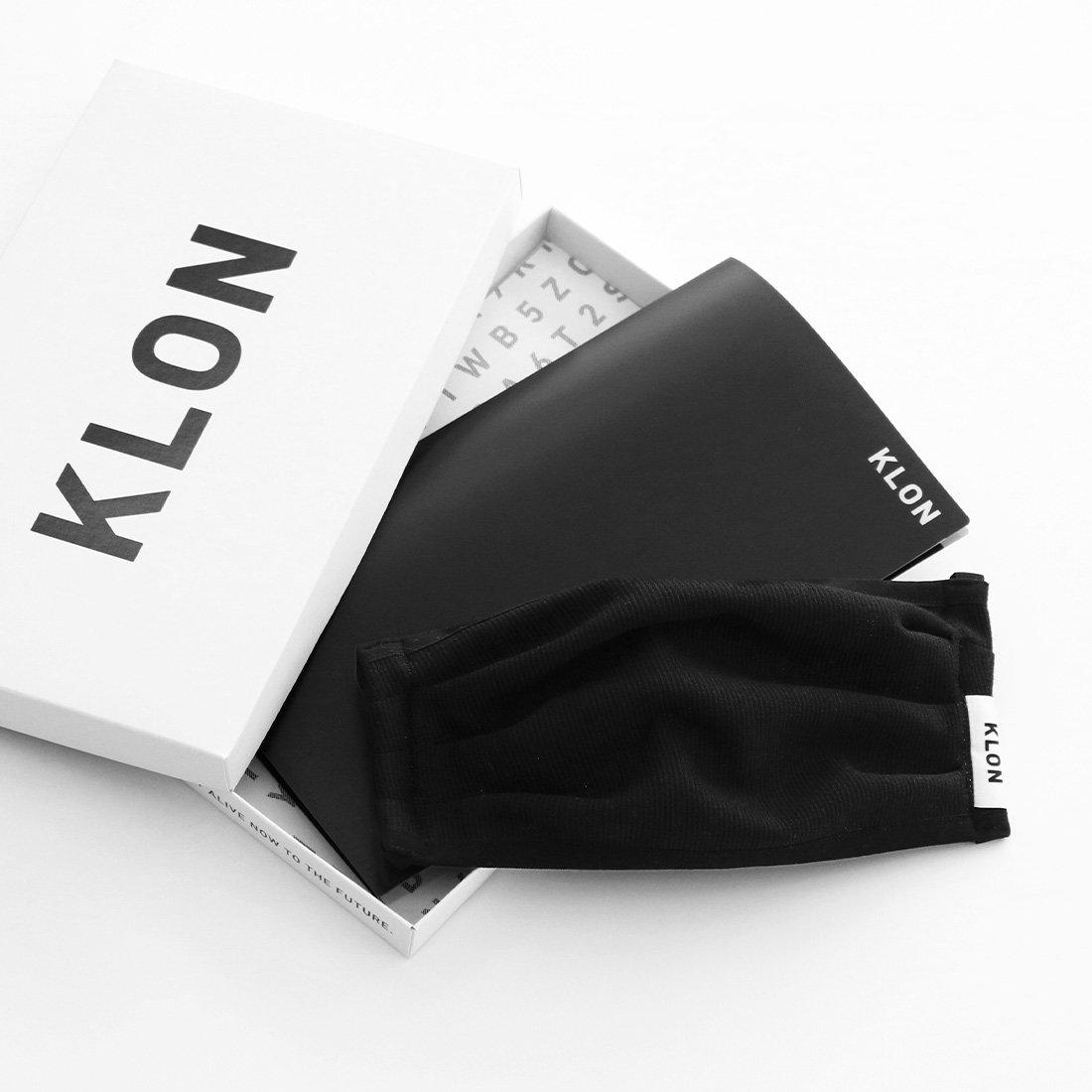 KLON抗菌マスク販売ページで