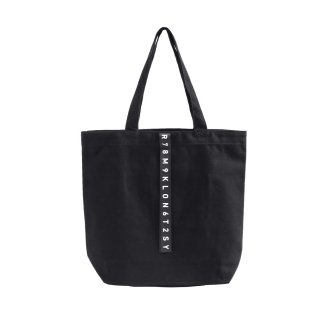 KLON ACTIVE HANG LINE TOTE BAG BLACK