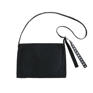 KLON ACTIVE HANG LINE MUSETTE BAG BLACK