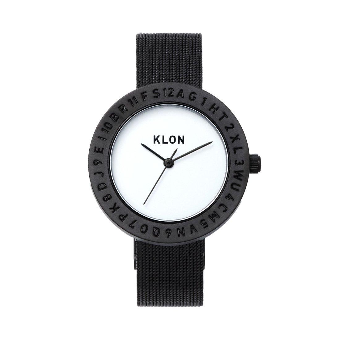 KLON ENGRAVE TIME -BLACK MESH- 33mm