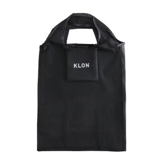 KLON POCKETABLE MESH BAG BLACK