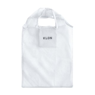 KLON POCKETABLE MESH BAG LIGHT GRAY