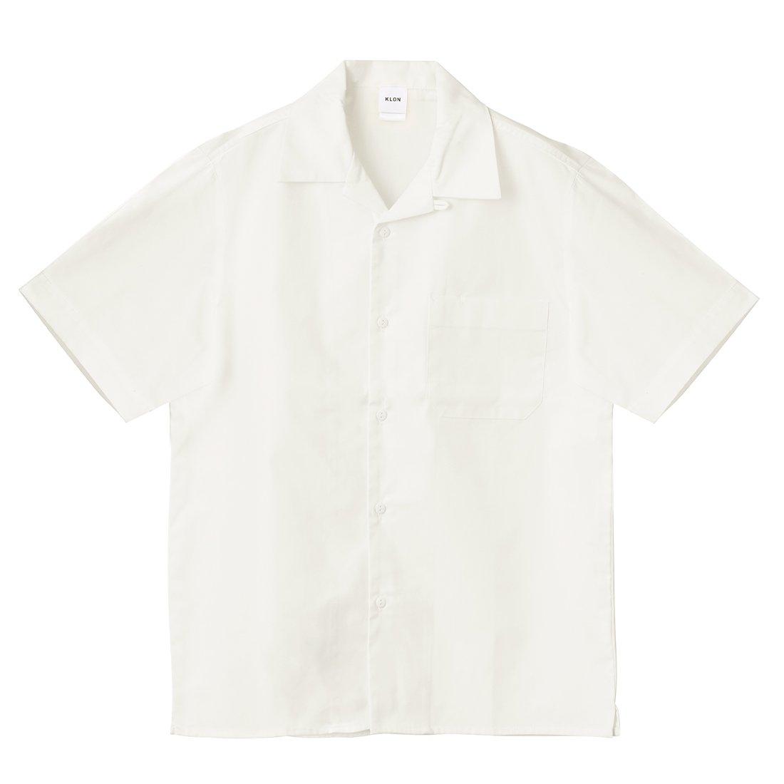 KLON WORX SHORT-SLEEVE SHIRTS WHITE