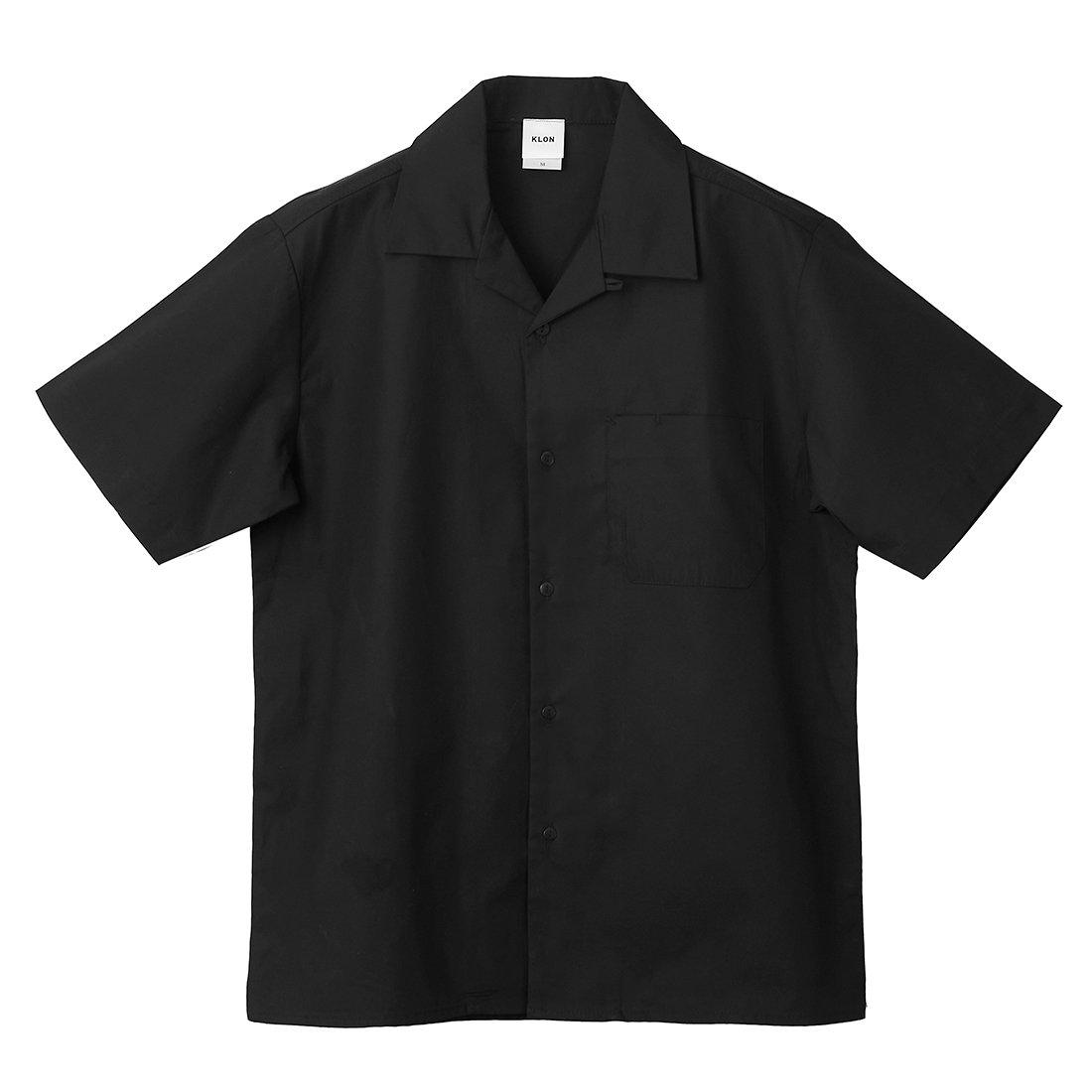 KLON WORX SHORT-SLEEVE SHIRTS BLACK