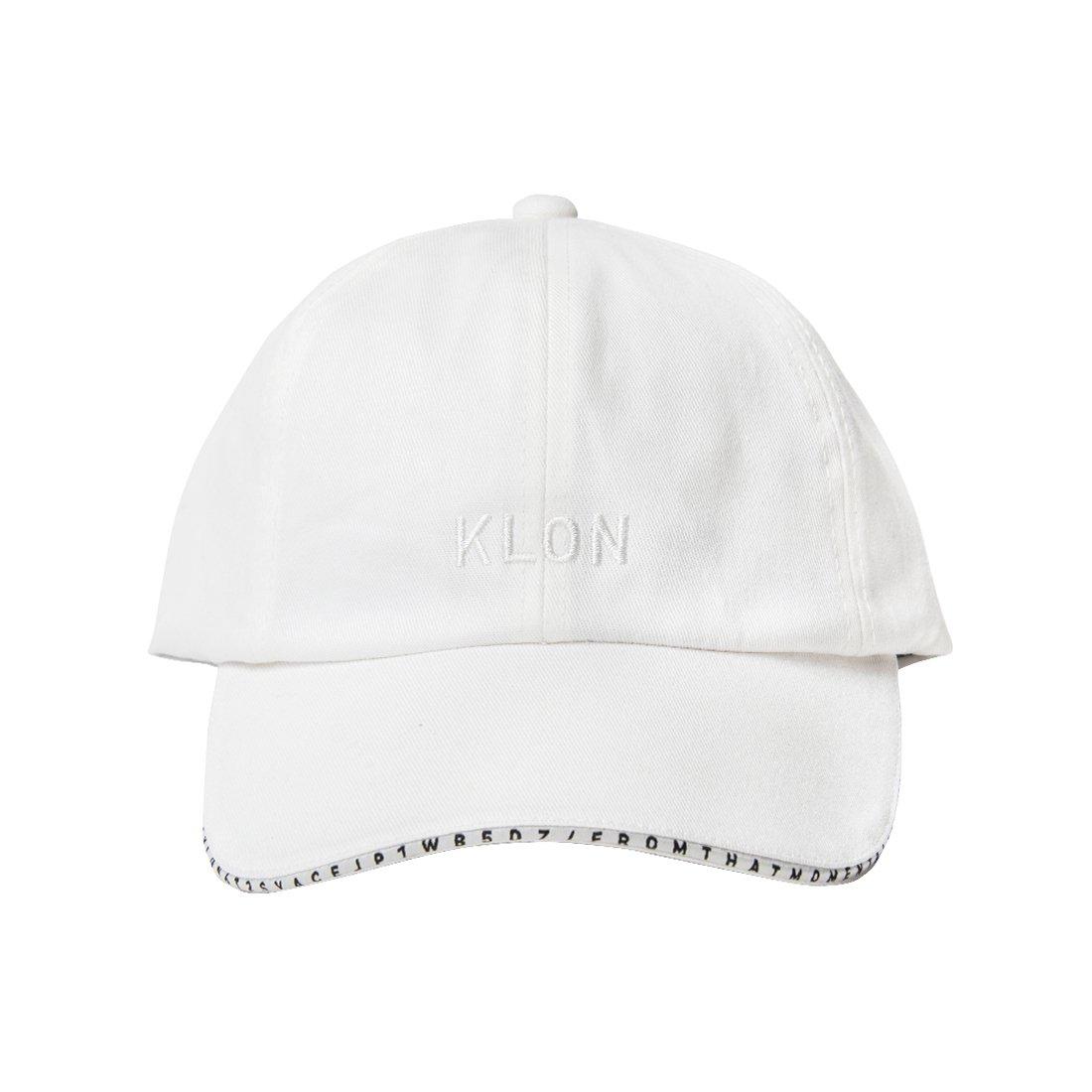 KLON CAP SERIAL NUMBER LINE WHITE