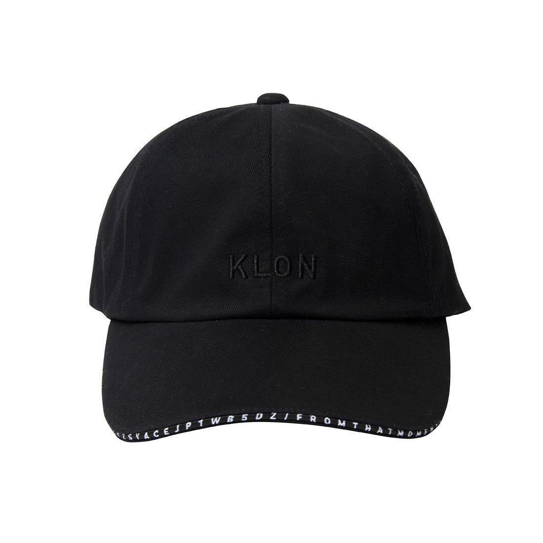 KLON CAP SERIAL NUMBER LINE BLACK