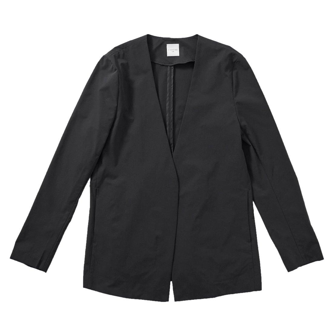 CHRONE borderless no-collar jacket -female-