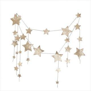 【Numero 74】フォーリングスター ガーランド ゴールド falling star garland