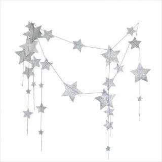 【Numero 74】フォーリングスター ガーランド シルバー falling star garland