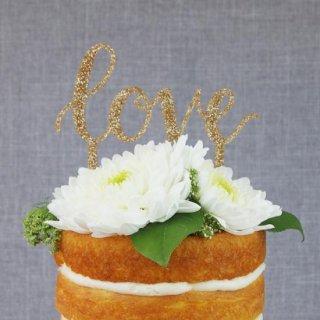 ケーキトッパー LOVE