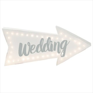 【Talking tables】ライト WEDDINGサイン(ILLUM-WEDDING)
