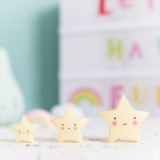 【a little lovely company】MINIS ミニフィギュア3個入り【クラウド・アイスクリーム・サン&ムーン・スター】