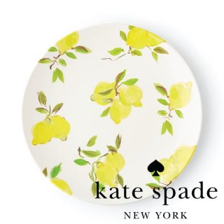 <img class='new_mark_img1' src='//img.shop-pro.jp/img/new/icons1.gif' style='border:none;display:inline;margin:0px;padding:0px;width:auto;' />【Kate Spade】Lemon Dinner Plate ディナープレート 29cm(176530)