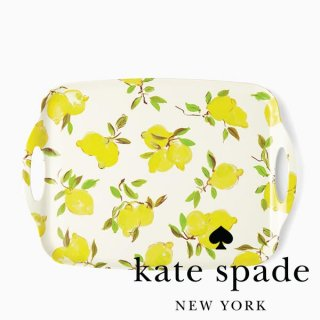 <img class='new_mark_img1' src='//img.shop-pro.jp/img/new/icons1.gif' style='border:none;display:inline;margin:0px;padding:0px;width:auto;' />【Kate Spade】Lemon Serving Tray トレー(176730)