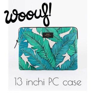 【WOOUF!BARCELONA】13インチ PCケース【Tropical】
