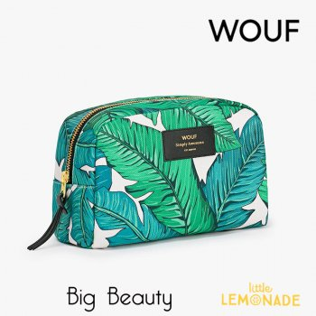 【WOOUF!BARCELONA】化粧ポーチ【Tropical】 Big Beauty