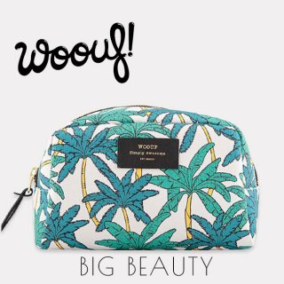 <img class='new_mark_img1' src='//img.shop-pro.jp/img/new/icons1.gif' style='border:none;display:inline;margin:0px;padding:0px;width:auto;' />【WOOUF!BARCELONA】化粧ポーチ【Palms】 Big Beauty