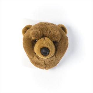 【Wild&Soft】アニマルヘッド ブラウンクマ