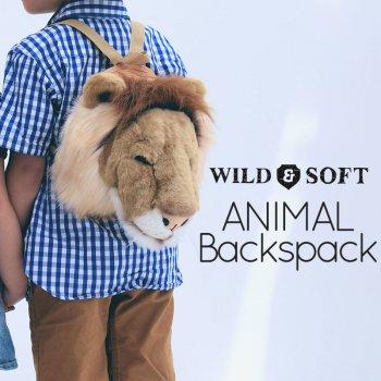 【Wild&Soft ワイルドソフト】ライオン アニマルリュック