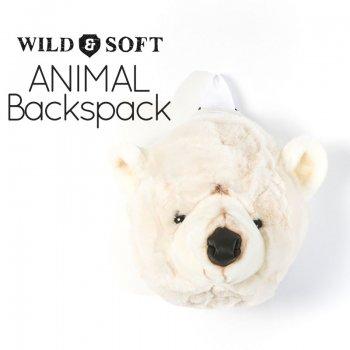 【Wild&Soft ワイルドソフト】 白くま アニマルリュック