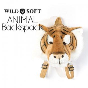 【Wild&Soft ワイルドソフト】トラ アニマルリュック