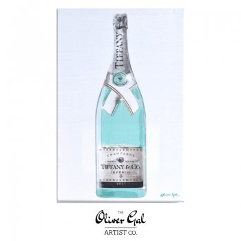 【Oliver Gal Art】 Priceless Champagne / TIFFANY BLUE (18978)