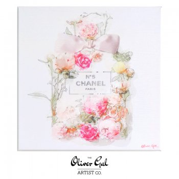 【Oliver Gal Art】 Blooming Perfume / CHANEL NO.5 (17906)
