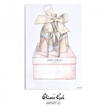 【Oliver Gal Art】My Romantic Pair / Jimmy Choo (15588)