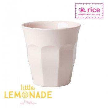 【RICE ライス】メラミンカップ/パステルピンク ミディアムサイズ 9cm(MELCU-SI)