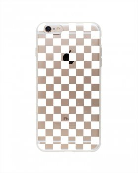 【Rifle Paper Co. × Garance Dore】iPhone6ケース /  Clear Checkers(クリアチェッカー) (DPIC07-6T)