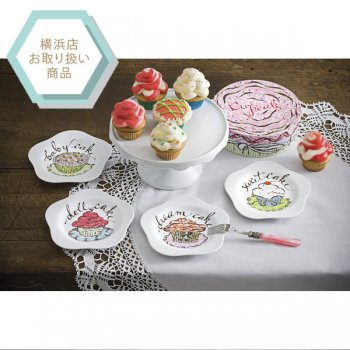 <img class='new_mark_img1' src='//img.shop-pro.jp/img/new/icons1.gif' style='border:none;display:inline;margin:0px;padding:0px;width:auto;' />【ROSANNA ロザンナ】CUP CAKE カップケーキ スモールプレート4アソートセット(49103)