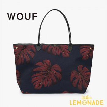 【WOUF】トートバッグ【Leaves】tote Bag WOOUF!(HA170003)