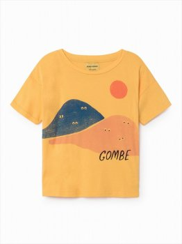 【BOBO CHOSES】2歳から7歳 Mountains shortsleeve t-shirt