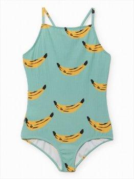 【BOBO CHOSES】 バナナ柄 ワンピース水着 【4-5歳】 BANANA SPAGHETTI STRAPS SWIMSUIT UPF50+ SS SALE