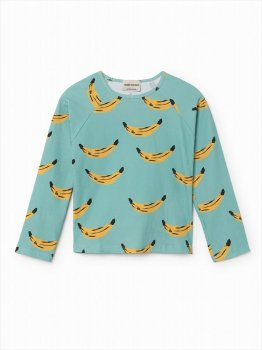【BOBO CHOSES】4歳から7歳 BANANA SWIM TOP UPF 50+