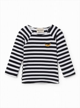 SS_SALE◆【BOBO CHOSES】ベビー用 2歳〜3歳 BRETON STRIPES SWIM TOP スイムウェア UPF50+
