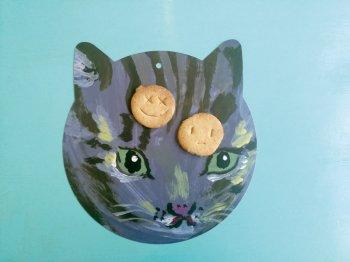 猫のリバーシブル プレイスマット 4種類から選べる  ランチョンマット