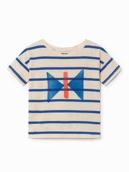 【BOBO CHOSES】2歳から7歳 Butterfly Short Sleeve T-Shirt