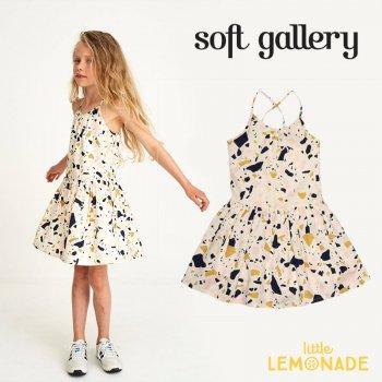 【Soft gallery】ワンピース 【4歳】ノースリーブ 子供服 女の子 子供 スカート (100-310-747) SS SALE