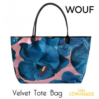 SALE◆【WOUF】ベルベット トートバッグ 【Orchidee Velvet Tote Bag】(WOOUF!) (HA180002)