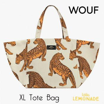 【WOUF】 トートバッグ 【Leopard Tote Bag】 レオパード(WOOUF!) (HXL180004)