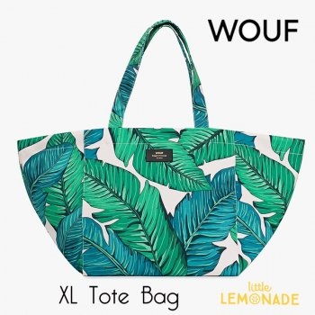 SALE◆【WOUF】トートバッグ 【Tropical Tote Bag】 ヤシの木(WOOUF!) (HXL180005)