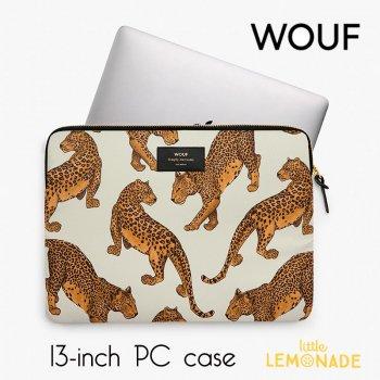 【WOUF】13インチ PCケース【Leopard】 パソコン用スリーブ(WOOUF!) (S180004)