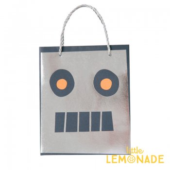 【Meri Meri メリメリ】 ロボット ペーパーバッグ 紙袋 1枚入り(45-3381/170155)
