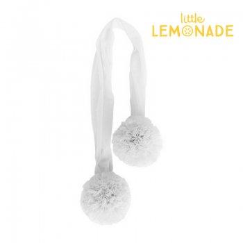 【Spinkie】チュールポム ホワイト ガーランド POM GARLAND【white 飾り 結婚式 ブライダル チュール】