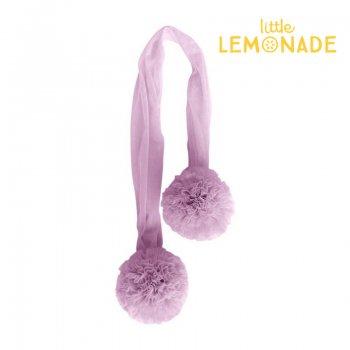 【Spinkie】チュールポム  ライラック チュールポム ガーランド POM GARLAND【lilac 飾り 結婚式 ブライダル チュール】