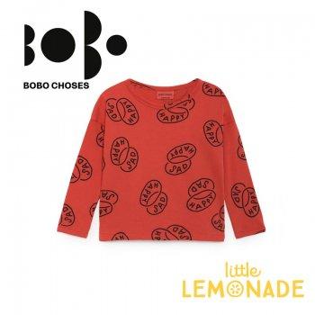 【BOBO CHOSES】 ハッピーサッド 長袖シャツ 【2-3歳/4-5歳】  (218012) AW
