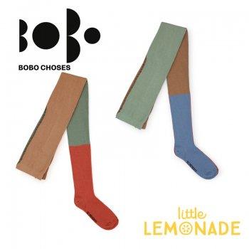 【BOBO CHOSES】マルチカラー ニット タイツ ジュニア(12.5-14cm/14.5-16cm 16.5-18cm)(218151) AW