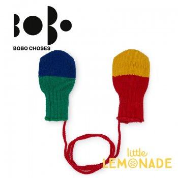 【BOBO CHOSES】12ヶ月から18ヶ月 ミトン手袋 マルチカラー (218280) AW