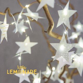 【Rader】スターストリングデコレーション 【クリスマス 飾り パーティー ドイツ 北欧 ガーランド】(0136-128)